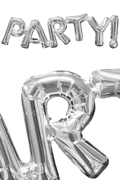 Foil Balloon Party Silver
