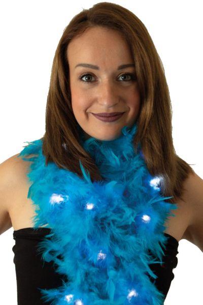 Boa light blue with lights