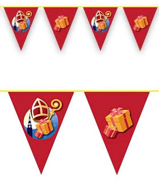 Flag line Sinterklaas 36m