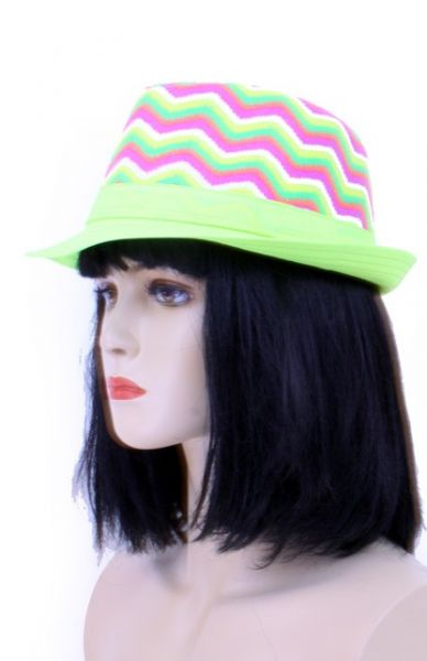Hippie hat Aztec green