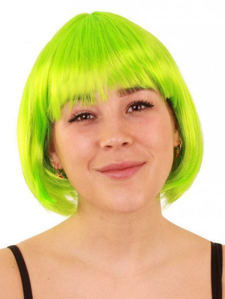 Bobline ladies wig neon green sensation