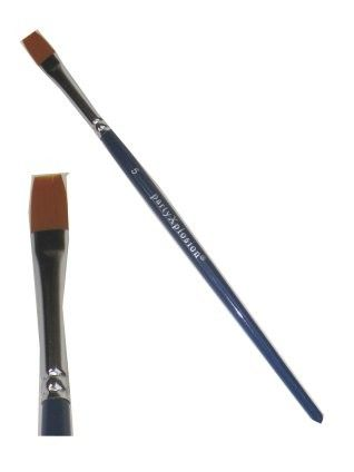 Brush flat no. 5 size 8 mm wide