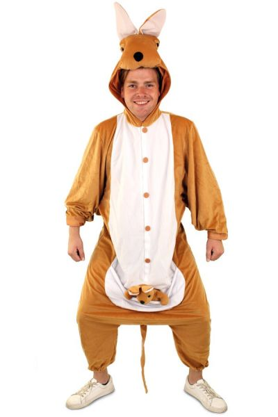 Kangaroo suit animal costume