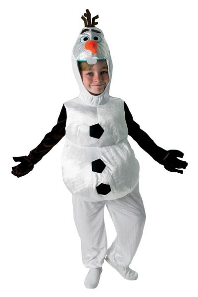 Frozen Olaf Snowman children's costumes