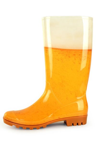 Rainboots Beer print ladies