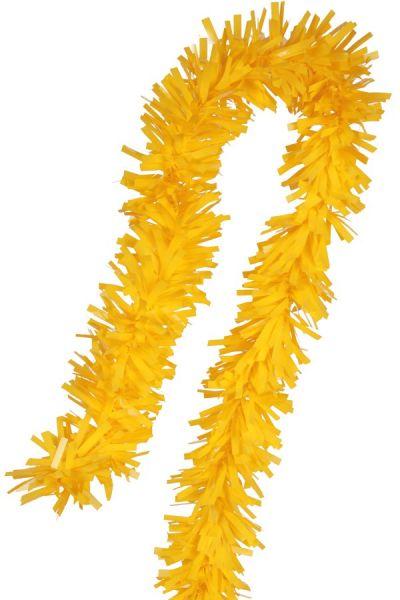 Foil twist garland yellow