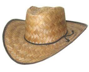 Straw Hat Cowboy Western