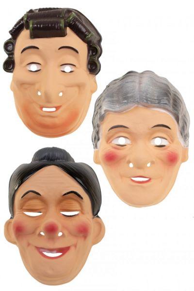 Various granny masks