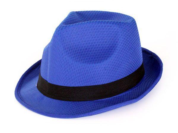 Mafia dent hat blue