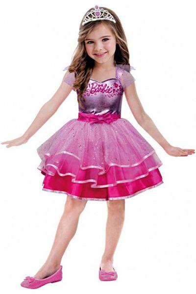 Barbie pink ballet dress girl