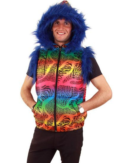 Hippy Body warmer Proud Hippie