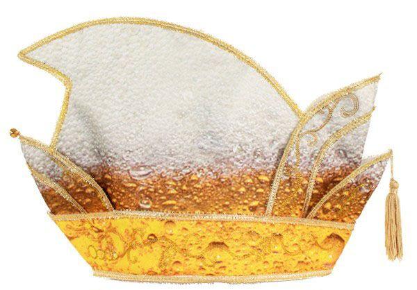 Prince Pils hat gold galon