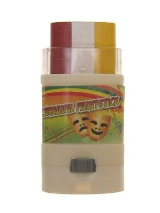 PartyXplosion Screw Up face paint stick red - white - yellow