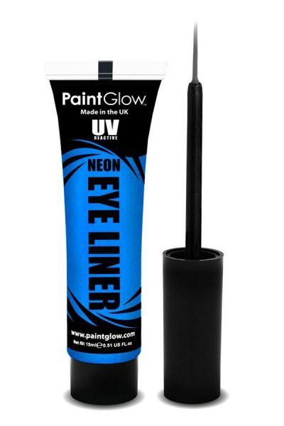 PaintGlow NEON Eyeliner blue