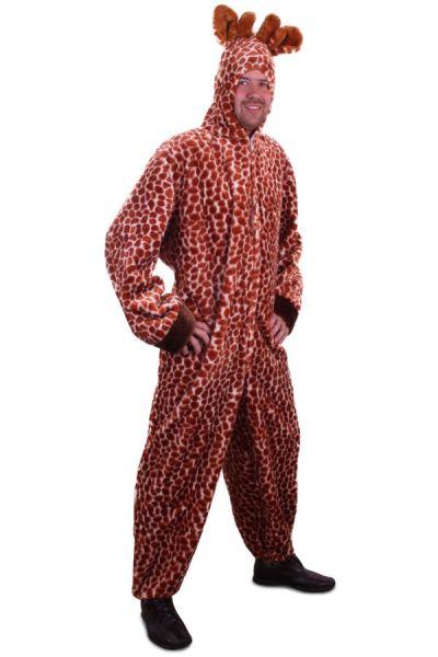 Animal suit Giraffe plush with hood