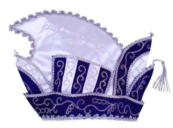 Princes stitch blue - white