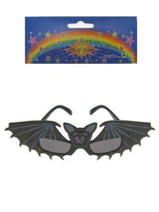 Halloween bat glasses