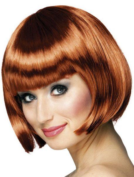 Ladies wig Bobline Copper