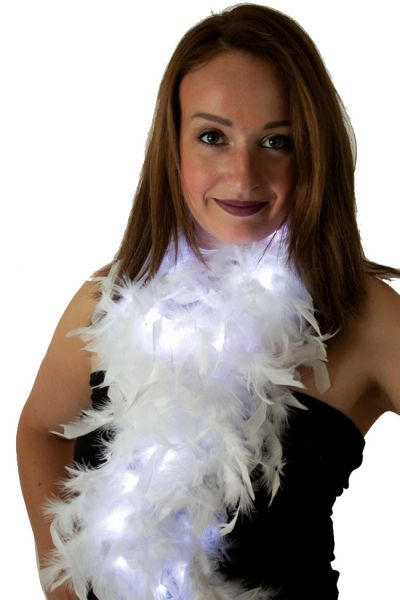 Boa white with lights