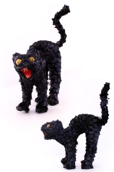 Horror cat with light 22 x 23 cm