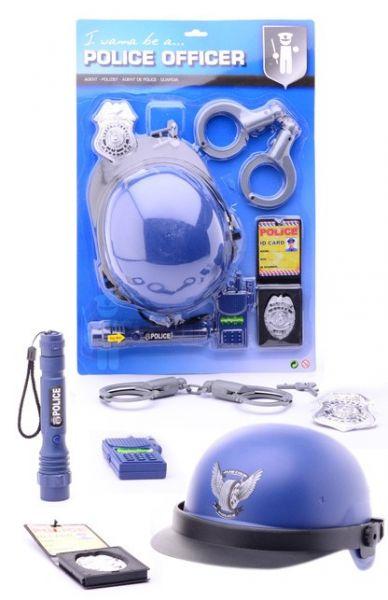 Police equipment play set