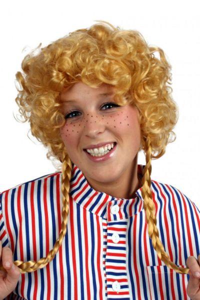 Wig Brigitte with 2 braids