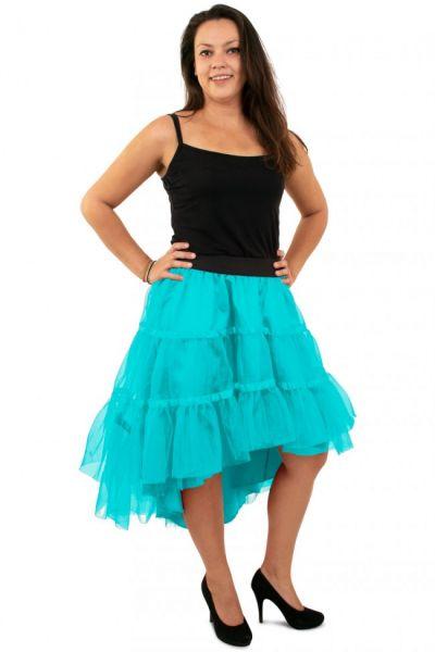 Blue petticoat sloping
