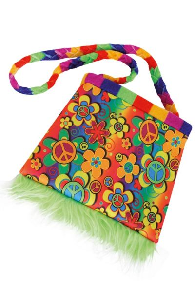 Colorful Hippie flower bag