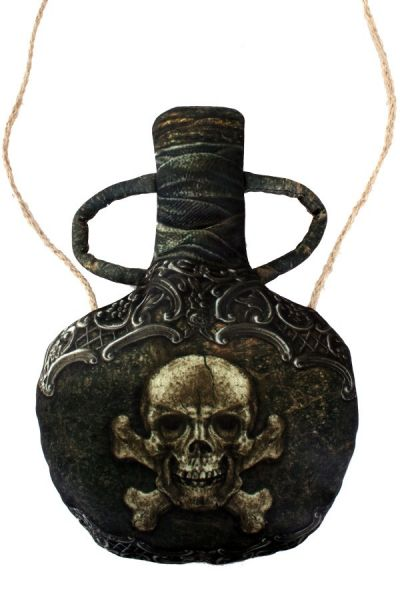 Bag pirate bottle drinking bottle
