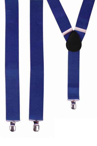 Suspenders color blue