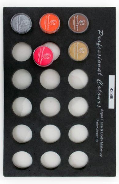 Face Paint case Trayfor 10 gram pots