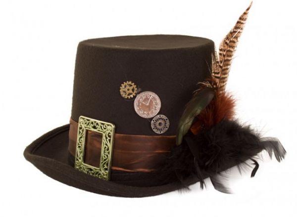 Steampunk Hat plumepunk