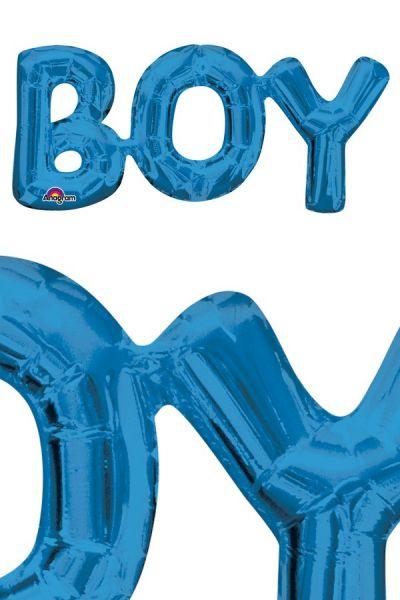 Foil Balloon Boy blue