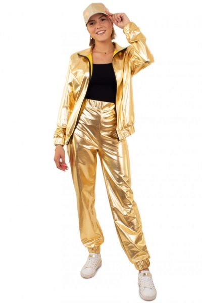 Gold Tracksuit Women