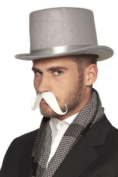 White mustache Earl