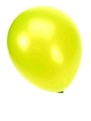 Quality balloon metallic apple green