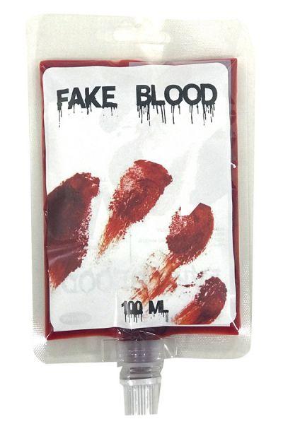Infusion bag of fake blood 100 ml