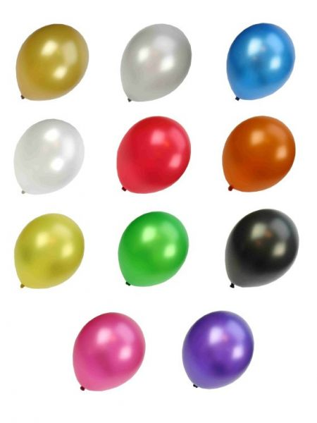 Quality balloon metallic assorted colors