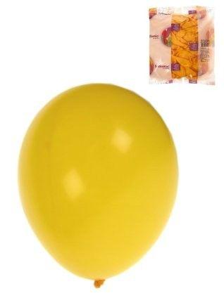 Helium balloons Yellow 100 pieces