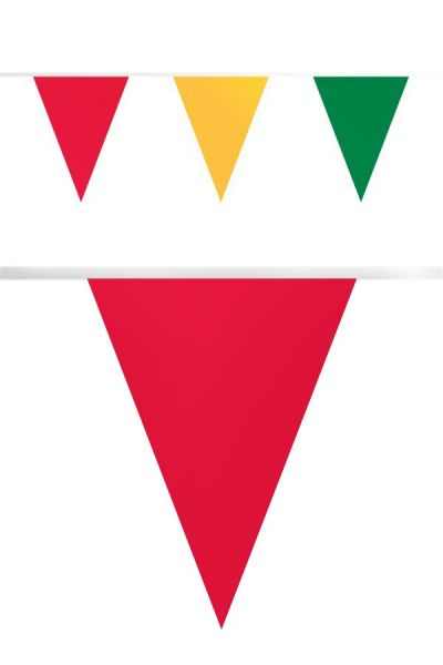 Flag line carnival 50m fireproof paper