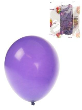 Helium balloons Purple 100 pieces