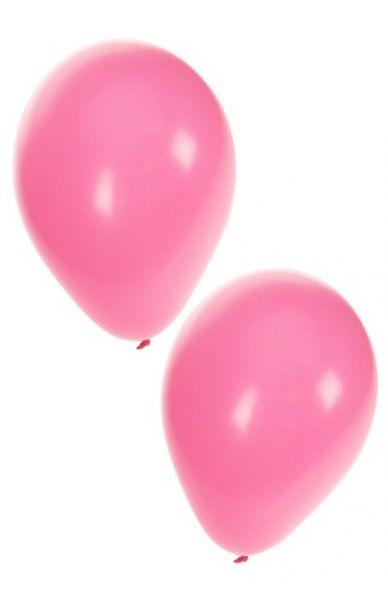 Light pink helium balloons