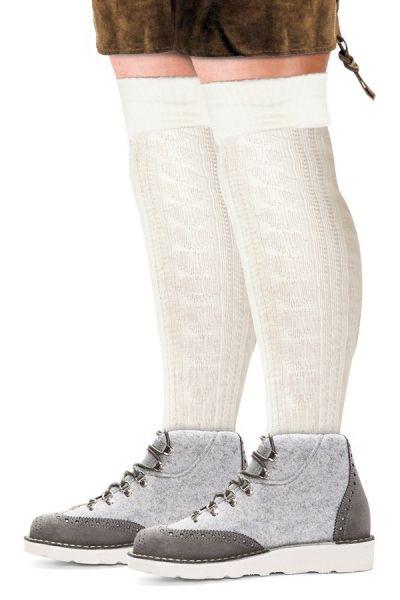 Oktoberfest Tyrolean socks long white
