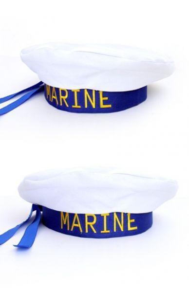 Sailor beret navy skipper