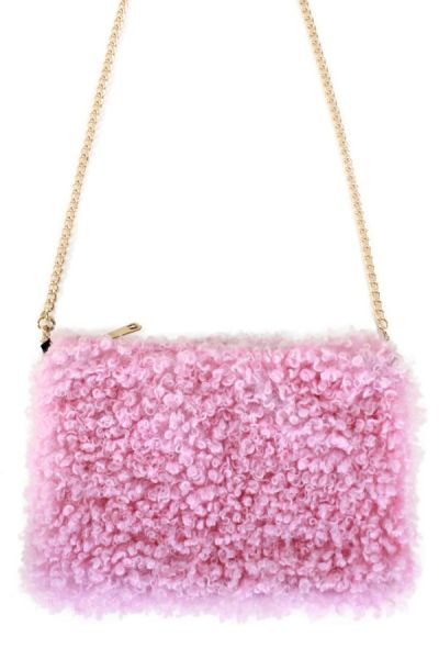 Bag curly pink