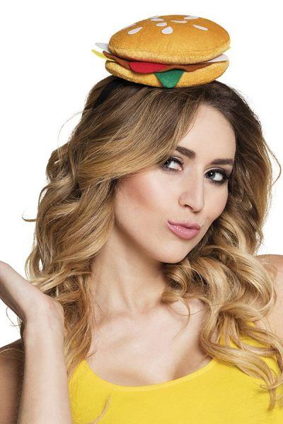 Hamburger on headband