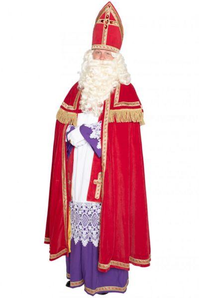Sinterklaas costume polyeter velvet