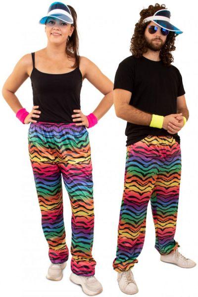 Hippie training pants neon tiger print