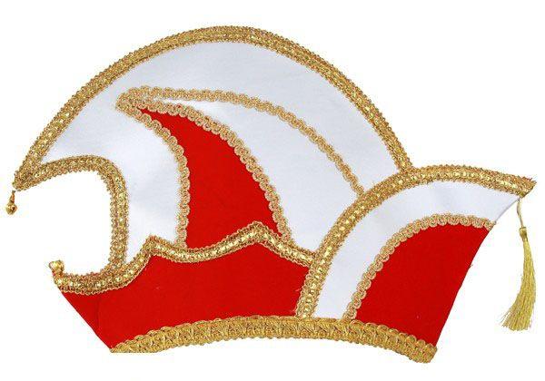 Prince Carnival stitch hat red velvet