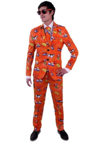 Fancy dress suit Orange Holland